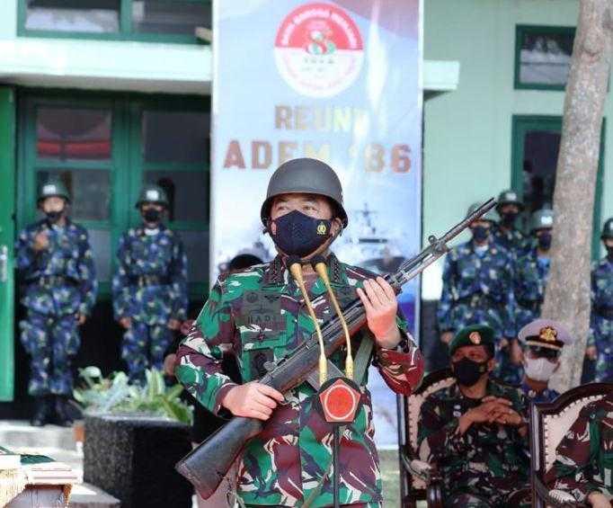 Panglima TNI, Kilas Balik 35 Tahun Pengabdian Adem 86
